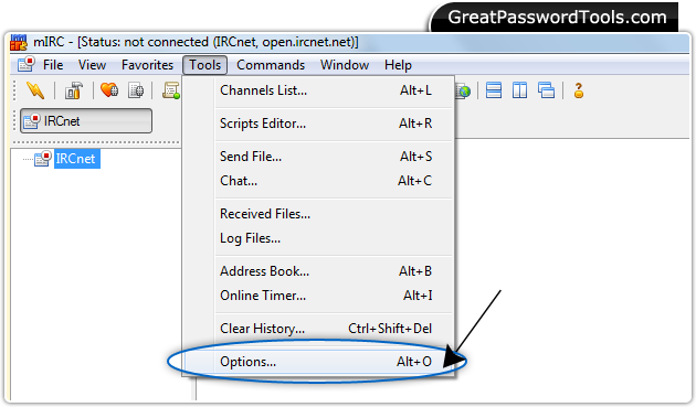 Password Recovery Software For mIRC - How to restore lost